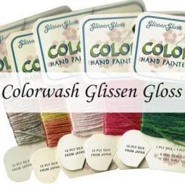 Нити шелковые Colorwash Glissen Gloss