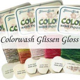 Шелковые нити Colorwash Glissen Gloss