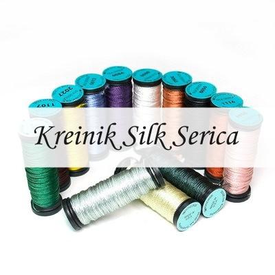 Шелковые нити Kreinik Silk Serica