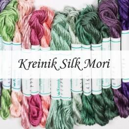 Нитки шовкові Kreinik Silk Mori