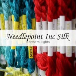 Нитки шовкові Northern Lights Needlepoint Inc Silk