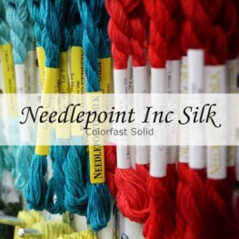 Шелковые нити Colorfast Solid Needlepoint Inc Silk