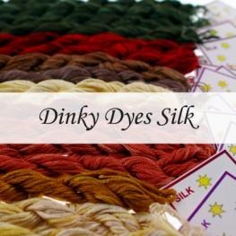 Нити шелковые Dinky Dyes Silk