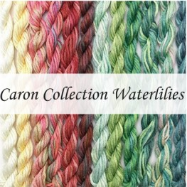 Нити шелковые Caron Collection Waterlilies