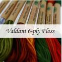 Нити Valdani 6 ply Floss Cotton Skeins