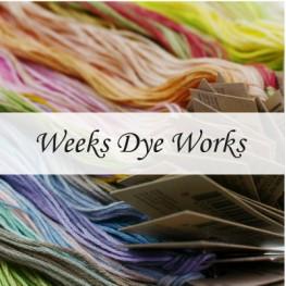 Нити Weeks Dye Works