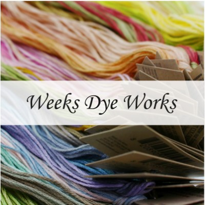 Нити Weeks Dye Works
