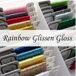Металлизированные нити Rainbow Blending Thread от Glissen Gloss