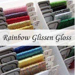 Металізовані нитки Rainbow Glissen Gloss