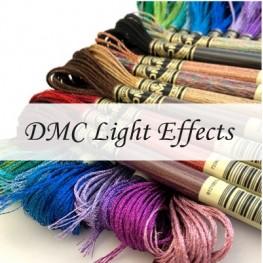 Металізовані нитки Light Effects DMC