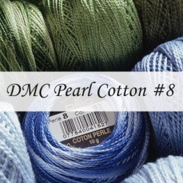 Нити DMC Pearl Cotton #8 арт. 116
