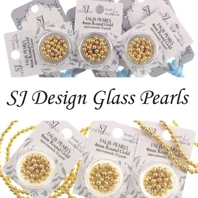 Бисер Round Glass Pearl SJ Designs