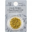 Бисер Round Glass Pearl SJ Designs 2.5 мм