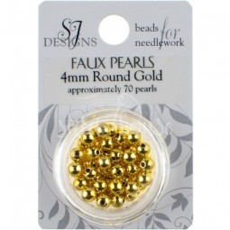 Бисер Round Glass Pearl SJ Designs 4 мм