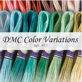 Мулине мультиколор DMC Color Variations арт. 417