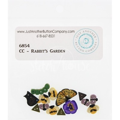 Пуговицы 6854 Rabbits Garden Just Another Button Company
