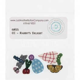 Пуговицы Rabbits Delight Just Another Button Company