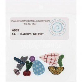 Пуговицы 6855 Rabbits Delight Just Another Button Company