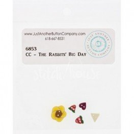 Пуговицы Rabbits Big Day Just Another Button Company