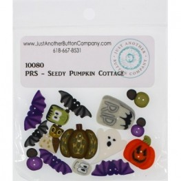 Ґудзики Seedy Pumpkin Cottage Just Another Button Company