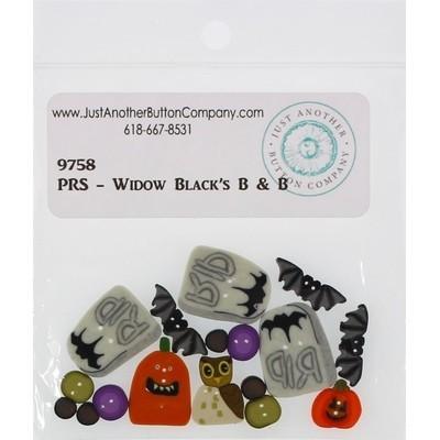 Пуговицы 9758 Widow Blacks B & B Just Another Button Company