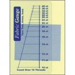 Лінійка для визначення каунту канви Fabric Gauge