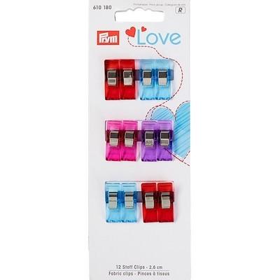 Зажимы для ткани Prym Love 610180