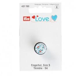 Наперсток металлический Prym Love размер S 431150