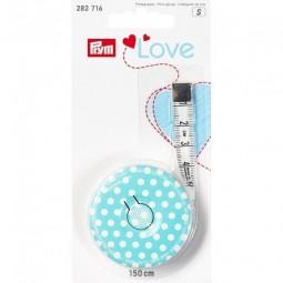 Рулетка портновская Prym Love голубая 282716