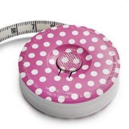 Рулетка портновская розовая Prym Love 282714