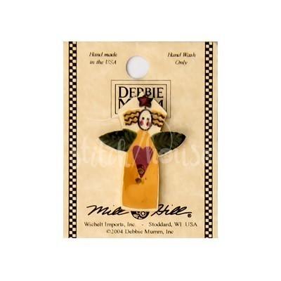 Пуговица Garden Angel with Heart Mill Hill 43071
