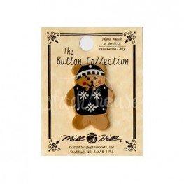 Пуговица Teddy Bear With Sweater Mill Hill 86097
