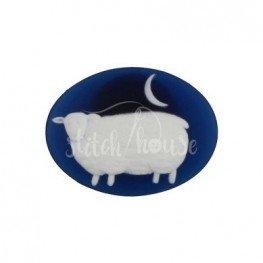 Магнит для игл Sheep at Night Kelmscott Designs