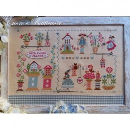 Схема Needlework Village Cuore e Batticuore