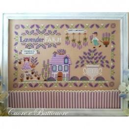 Схема Lavender Farm Cuore e Batticuore
