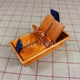 Деревянная корзинка для хранения игл и булавок Sajou