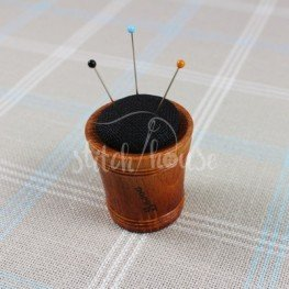 Игольница деревянная Black Linen Sajou