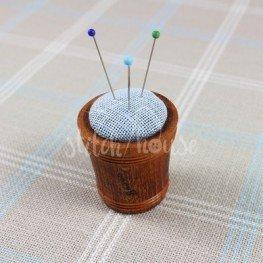 Игольница деревянная Blue Linen Sajou