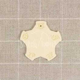 Бобинка для мулине Sajou слоновая кость