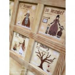Схема 12 Days of Christmas The Primitive Hare