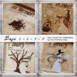 12 Days of Christmas The Primitive Hare
