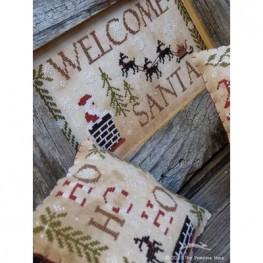 Схема Welcome Santa The Primitive Hare