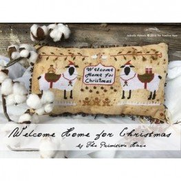 Схема Welcome Home for Christmas The Primitive Hare