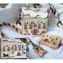 Схема Santa's Home Treasure Box The Primitive Hare