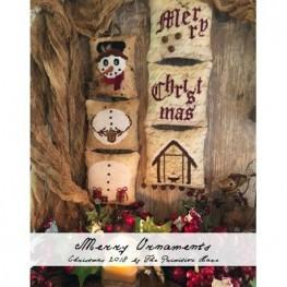 Схема Merry Ornaments The Primitive Hare