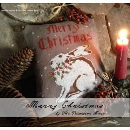 Схема Merry Christmas The Primitive Hare