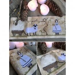 Схема Ewes Queen Of The Needles The Primitive Hare
