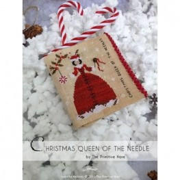 Схема Christmas Queen of the Needles The Primitive Hare