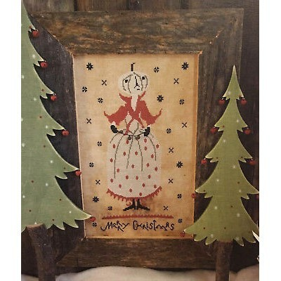 Схема Christmas Pumpkin Queen The Primitive Hare