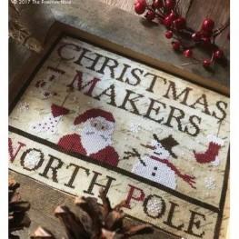 Схема Christmas Makers The Primitive Hare